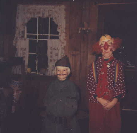 Jeffrey Wayne and Jimmy Flynn, Halloween, 1980
