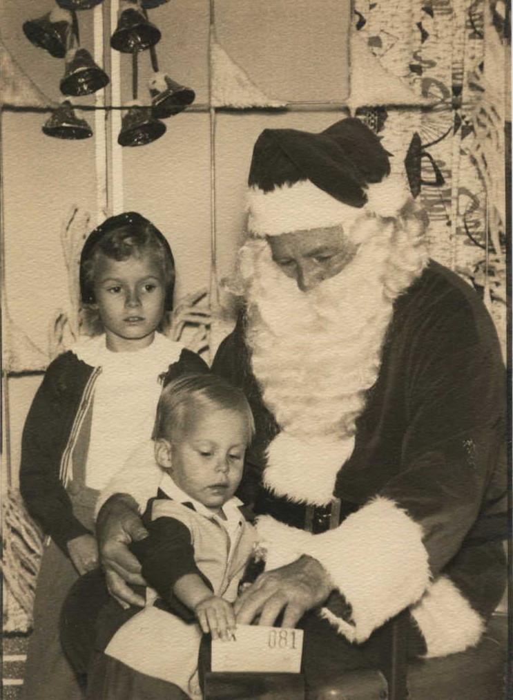 Christmas, 1956